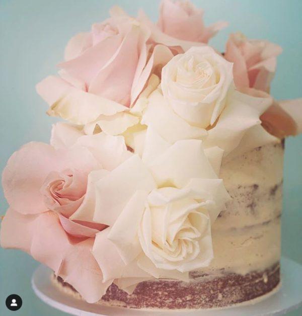 Naked rose cake sydney