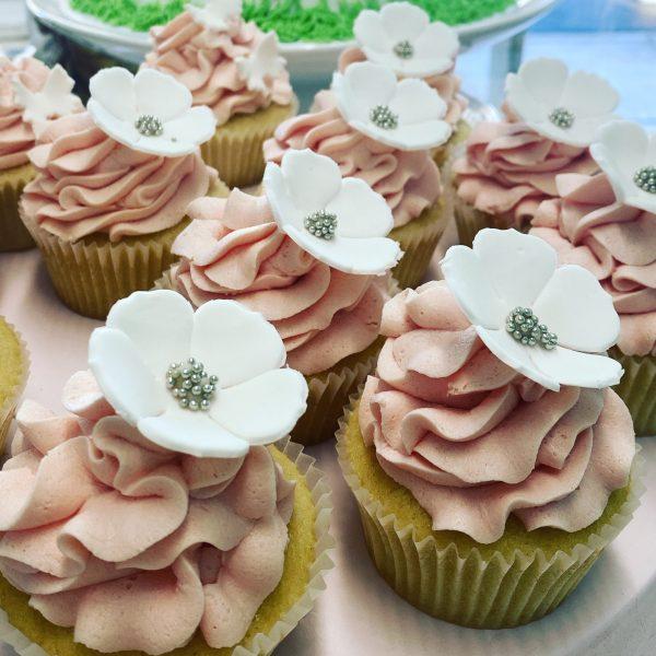 Princess White Cupcake