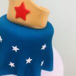Single Wonder Woman Cake
