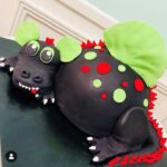 Toothless Dinosaur Cake